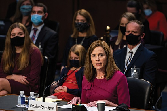 Anti-abortion Judge Amy Coney Barrett is on her way to a seat on the U.S. Supreme Court.