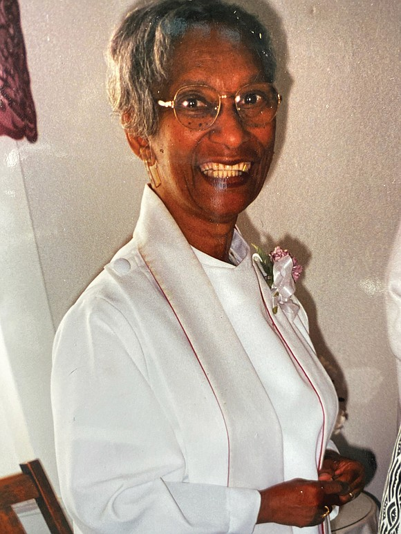 The Rev. Delores McFadden Robinson Seay, an associate minister at Triumphant Baptist Church who devoted herself to volunteer service at ...