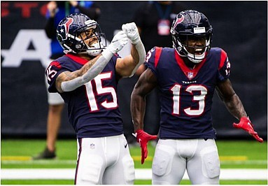 The attendance on Sunday wasn't the usual 70,000-plus screaming fans that normally fill the stands at the Texans home games ...