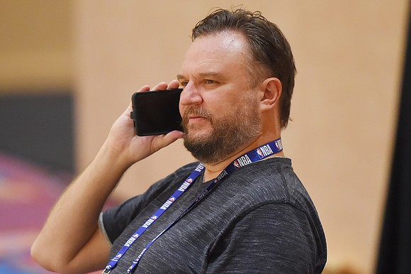 Daryl Morey, who in October last year sparked controversy between the NBA and China with a tweet in support of ...
