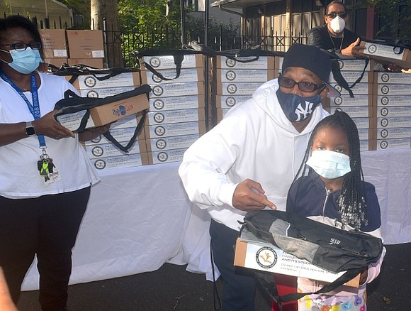 Helping Harlem families enjoy and succeed in this most difficult year of school, Exonerated 5 member Korey Wise, The Children's ...