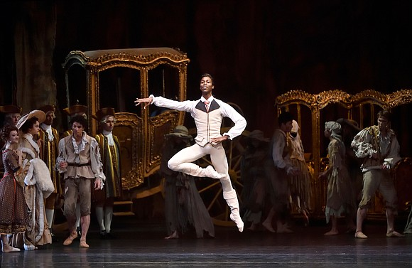 Another extraordinary African American has joined Misty Copeland in the roster of American Ballet Theatre's principal dancers.