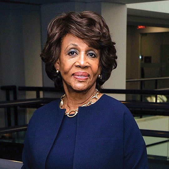 Maxine Waters talks about the eviction moratorium...