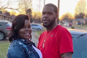 Breonna Taylor and her boyfriend Kenneth Walker Credit:Family photo/WAVE