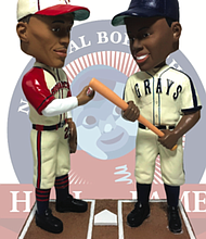1942 Negro Leagues World Series Bobblehead Featuring Satchel Paige and Josh Gibson Unveiled