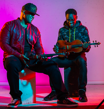 Black Violin, the classical-meets-hip- hop duo of Kev Marcus and Wil Baptiste, announced Give Thanks, their debut holiday album will ...