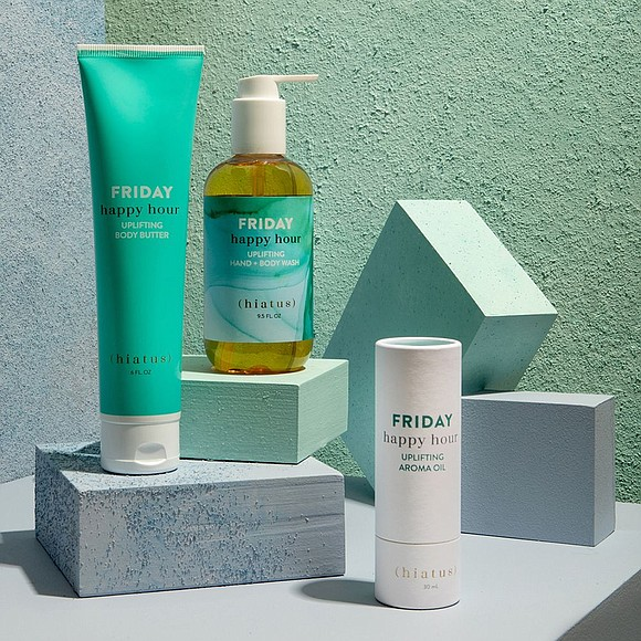 Hiatus Everyday launches with The Weekend Collection and The Spa Day Collection, featuring aroma oil, body wash, body butter, charcoal ...