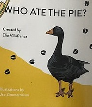"""""""Who Ate the Pie"""" cover graphics/art by Ute Zimmermann"""