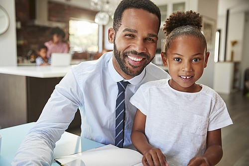 Ernest Woodson knows what it's like being a single Black father. He also knows the challenges, both real and perceived, ...