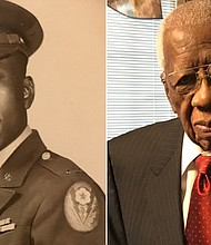 Robert H. Smith Sr., 99, is the son of a sharecropper, a US Army veteran and a retired college professor and dean. He voted early in Jackson, Mississippi.