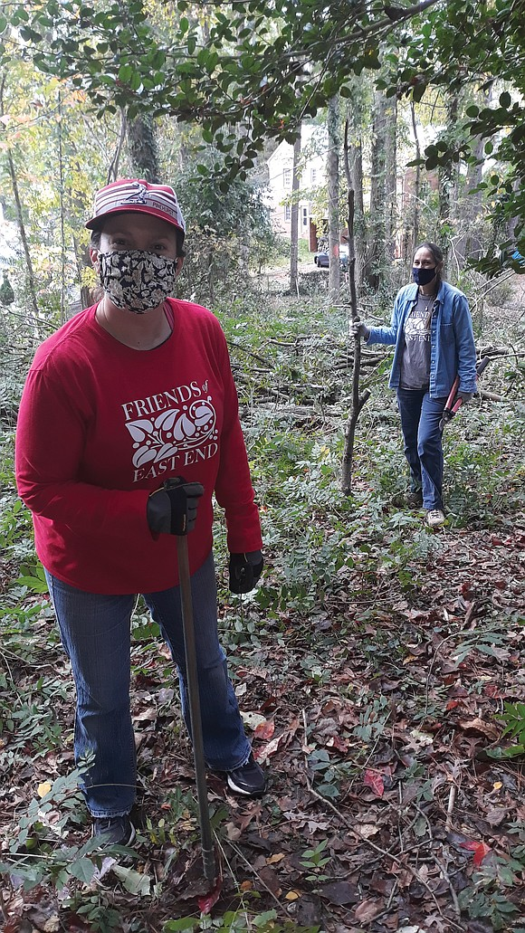 The all-volunteer Friends of East End Cemetery no longer is involved in restoring the once abandoned historic African-American burial ground.