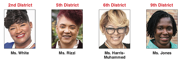 The Richmond School Board will have four new members when the new board is sworn in in January, while five ...