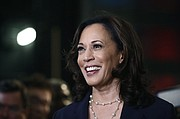 U.S. Sen. Kamala Harris last fall during the 2020 primary. Harris became the first Black woman vice president of the United States Saturday when AP declared her and President-Elect Joe Biden the winners of the November General Election.