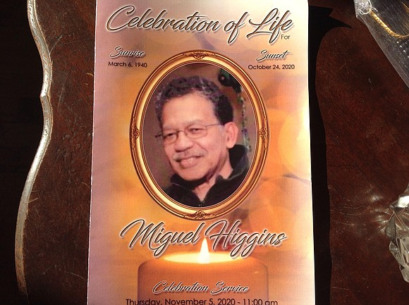 A close-knit circle of 25 family members and friends gathered Thursday, November 5, to commemorate the illustrious life of former ...