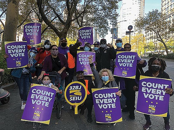 32BJ's theme of 2020 was keeping what was theirs. Whether it involved the CARES Act, the HEROES act (both addressing ...