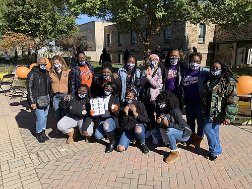 A group of senior students from the Baltimore Leadership School for Young Women (BLSYW) took it upon themselves to go ...