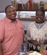 Chef Jernard Wells and Chef Essie Bartels on CLEO TV's NEW SOUL KITCHEN