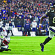 Sunday's game will be the second time that Ravens quarterback Lamar Jackson will face the Patriots. Jackson helped Baltimore upset the undefeated Patriots last season with a 37-20 win.