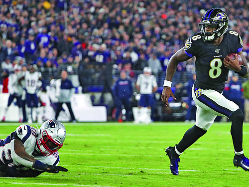 The Baltimore Ravens sit at 6-2 after a flipping the script in the second half of last Sunday's game to ...