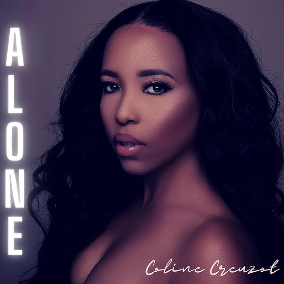 """R&B Singer, Songwriter and Songstress Coline Creuzot debuts new single """"ALONE"""""""
