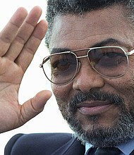 President Jerry Rawlings