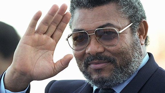 """""""A bear of a man with a booming voice."""" That's how some will remember Ghana's former President Jerry John Rawlings ..."""