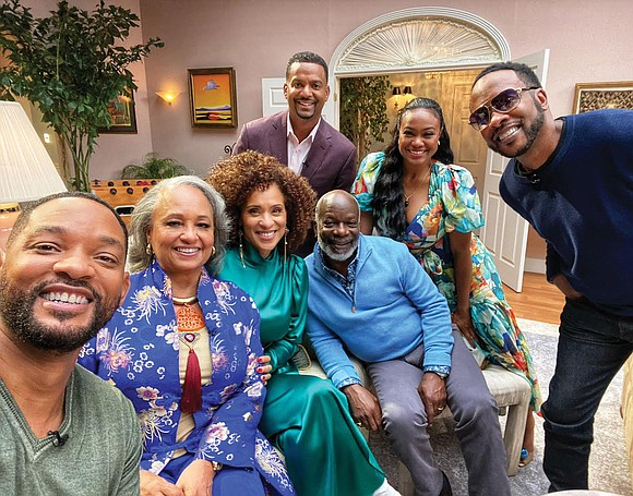 """Actress Daphne Maxwell Reid recently joined the cast of """"The Fresh Prince of Bel-Air"""" for a reunion show airing this ..."""
