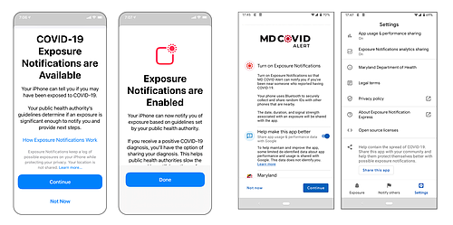 Governor Hogan Announces MD COVID Alert Surpasses 1 Million Subscribers Marylanders Can Use MD COVID Alert to Receive Confidential COVID-19 Exposure Notifications on Smartphones