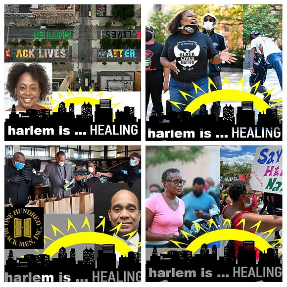 """Harlem is…Healing,"" an effort by Community Works/New Heritage Theatre Group to celebrate individuals and agencies, is expanding its campaign to ..."