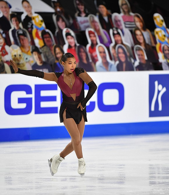 It is a season like no other in the sport of figure skating as U.S. ladies competitor Starr Andrews can ...