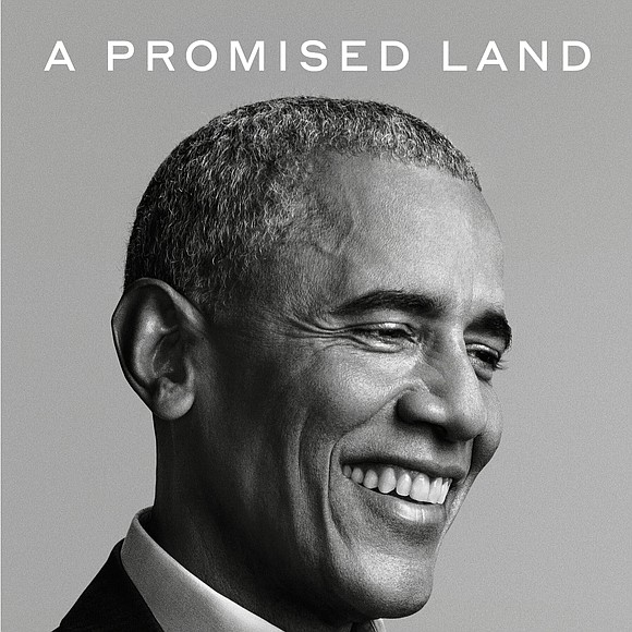 """Former President Barack Obama's memoir, """"A Promised Land"""" sold nearly 890,000 copies in the United States and Canada in its ..."""