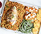 Sheet pan Thanksgiving