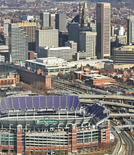 M&T Bank Stadium in Baltimore where the Ravens play their home games. The next home game takes place on Thursday, December 3, 2020 when the Baltimore Ravens host the Dallas Cowboys.