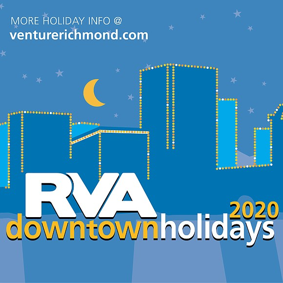 Downtown will light up for the holidays with the annual RVA Illuminates celebration this Friday, Dec. 4.