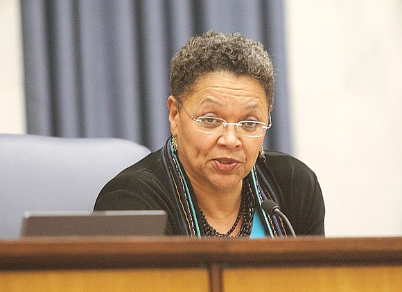 """Too many flaws. That's City Councilwoman Ellen F. Robertson's take on a proposed new master plan, dubbed """"Richmond 300,"""" to ..."""