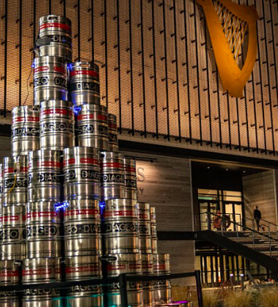 Guinness Open Gate Brewery's Holiday Light Walk with a number of outdoor installations to view as you enjoy a beer ...