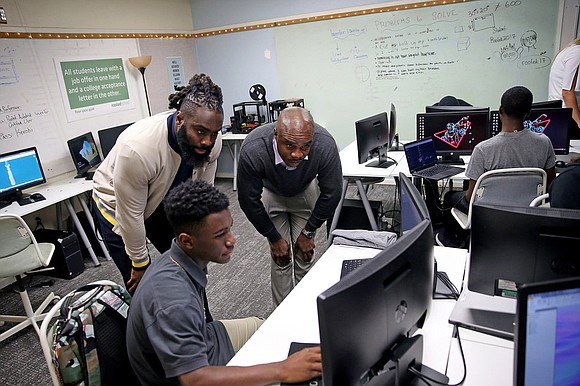A clear digital divide persists, especially among Black, Hispanic and low-income students...