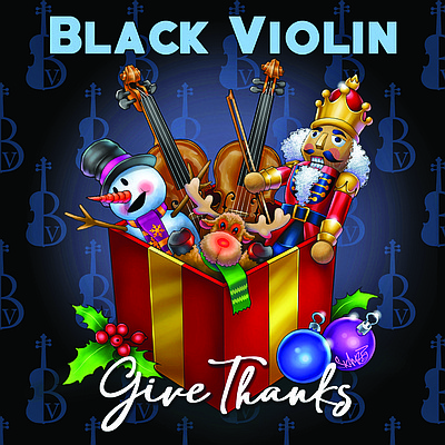 "Newark, NJ— The classical- meets-hip-hop duo Black Violin released the video for ""Have Yourself A Merry Little Christmas,"" taken from ..."