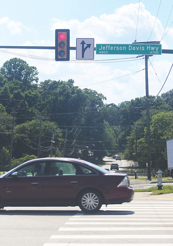 Jefferson Davis Highway is getting a new name.