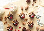 Reindeer Pecan Brownies