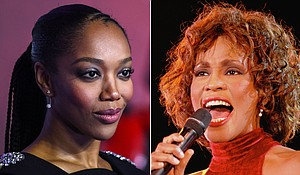 Naomi Ackie is set to play Whitney Houston in a new biopic. Credit:Getty Images/Redferns
