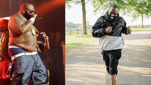 After the urging of his doctor, rapper Rick Ross changed his diet and exercise and saved his life by losing ...