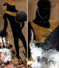 Annabelle Araya, a first generation African American artist from Portland, reflects on the African Diaspora in her paintings.