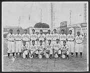 The Homestead Grays team