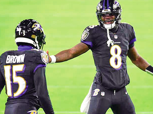 The Baltimore Ravens have made it to the postseason in each of the years that Lamar Jackson has been the ...