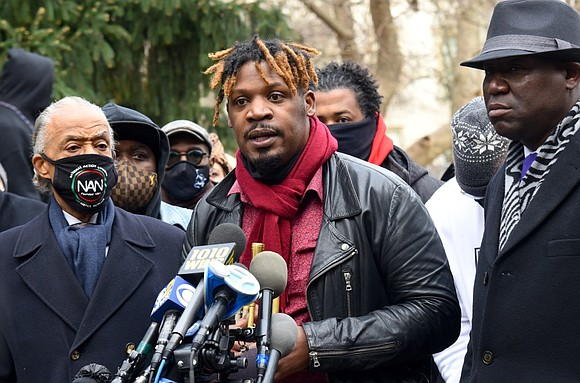 Rev. Al Sharpton and attorney Benjamin Crump held a press conference this week for 14-year-old Keyon Harrold, Jr. who was ...