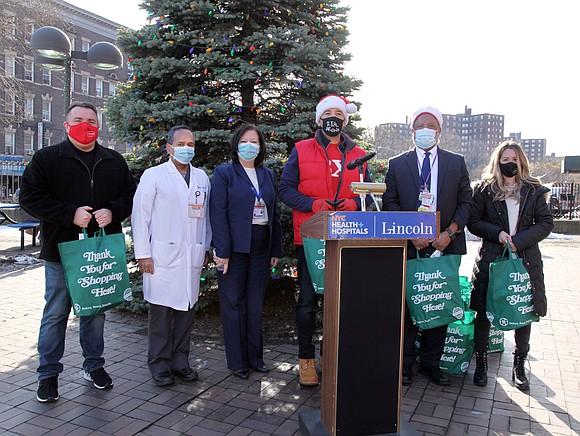 On Dec. 23, Bronx Borough President Ruben Diaz Jr. arranged for Krasdale Distributor to donate a substantial amount of food ...