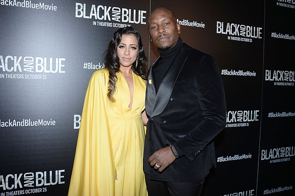 Actor and singer Tyrese Gibson has announced that he and his wife Samantha have split after four years.