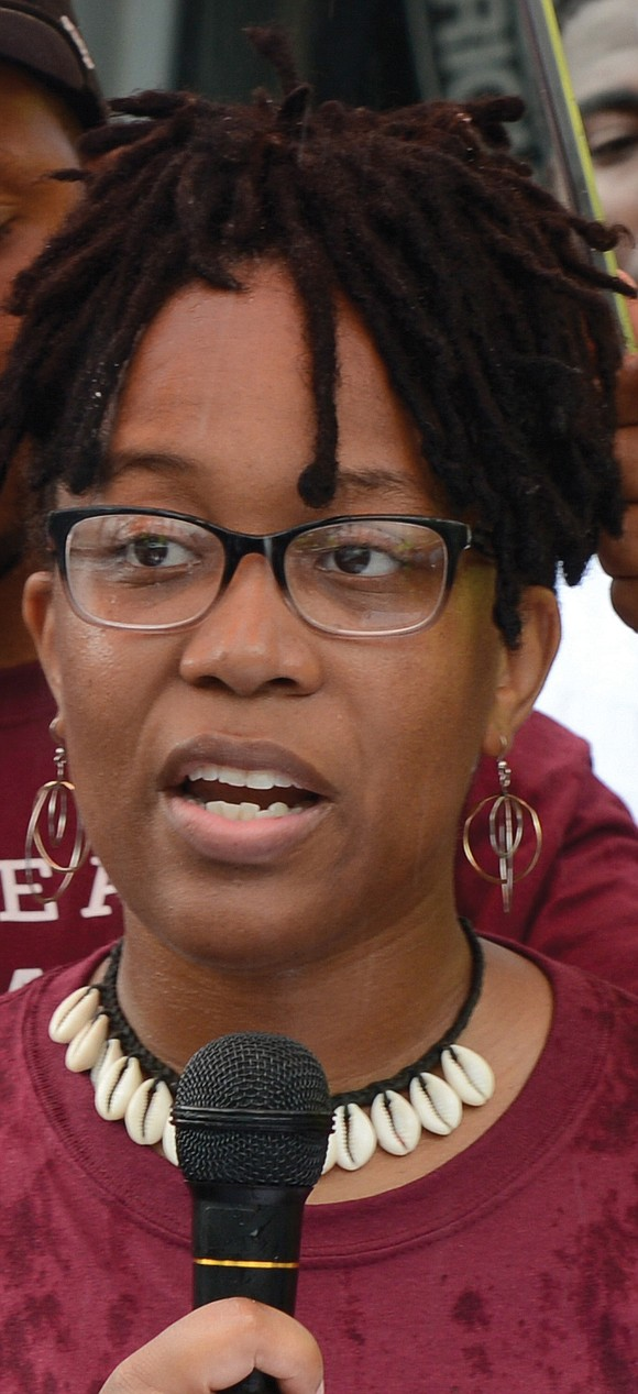 The sister of Marcus-David Peters, who was shot and killed by a Richmond Police officer in 2018 during what has ...