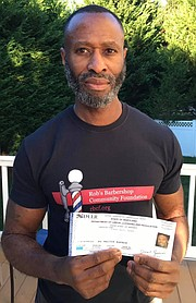 Robert Cradle, Baltimore native re- cently received the Better Baltimore Awards for 2020. He has been helping undeserved Baltimore-area residents for over 20 years. Through his non- profit, the Rob's Barbershop Commu- nity Foundation has set up over 35 projects including about 15 permanent salons and barbershops, offering a range of grooming services to serve those living in poverty or lacking money or hygienic resources. Congrat- ulations Rob, well deserve, May God continue to bless you.